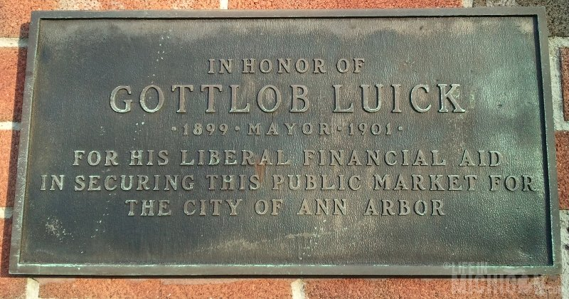 Gottlob Luick Mayor
