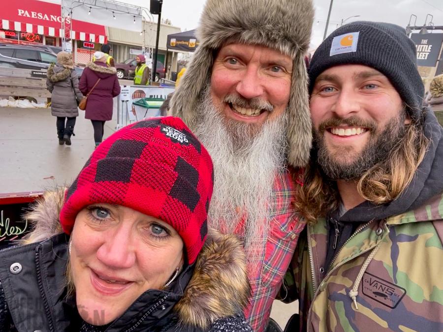 Chuck, Brenda, and Zack