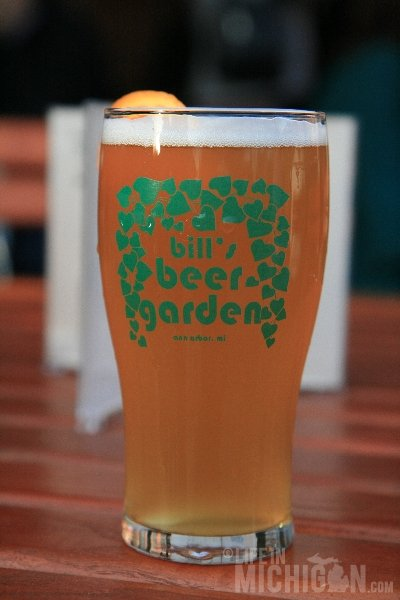 Bill's Beer Garden First Oberon of the Season