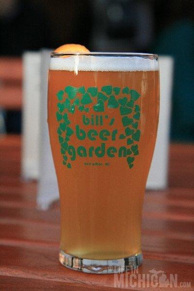 Bill's Beer Garden First Oberon of the Season