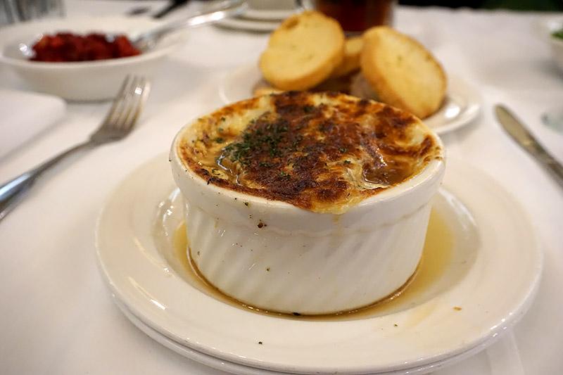 Zehnder's onion soup