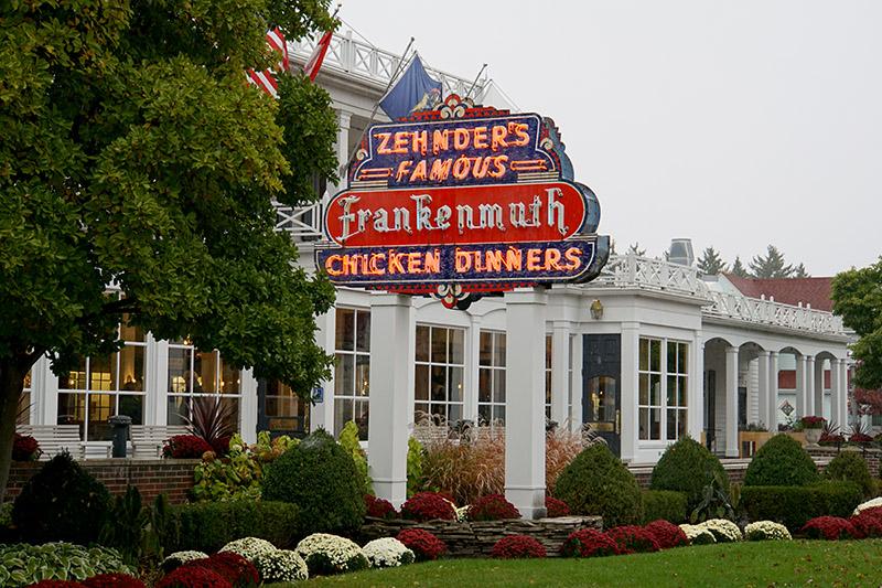 Zehnder's restaurant exterior