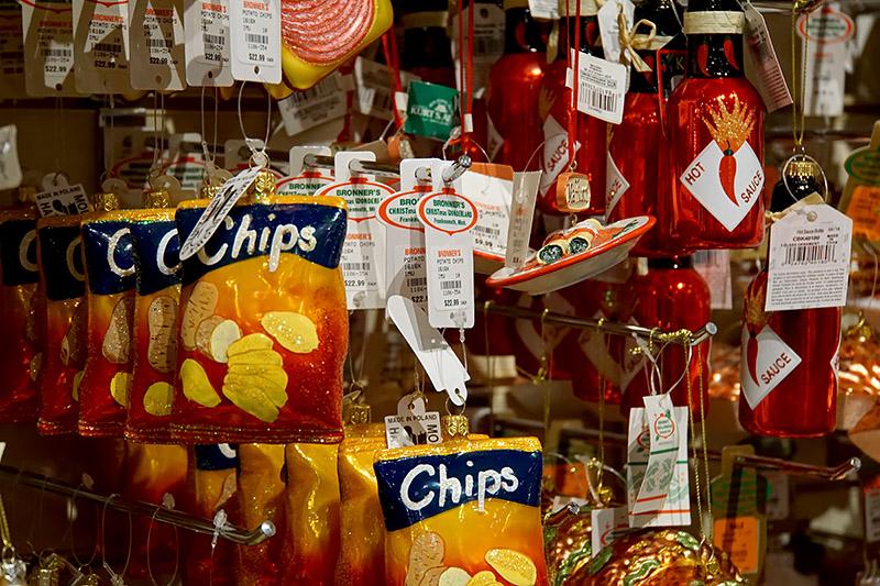 food ornaments