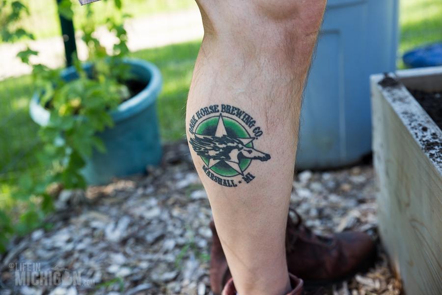 Dark Horse Tattoo - Spring Gardening
