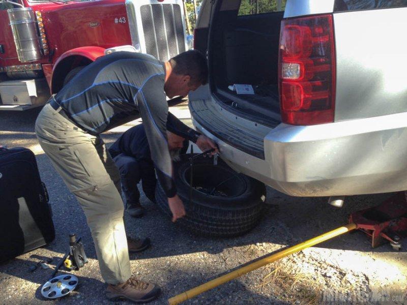 Flat Tire!!!