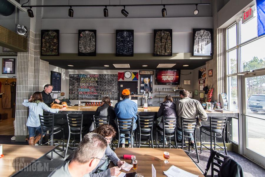Grand Traverse - Bravo Zulu Brewing in Williamsburg - Grand Traverse Bay Beer Tour