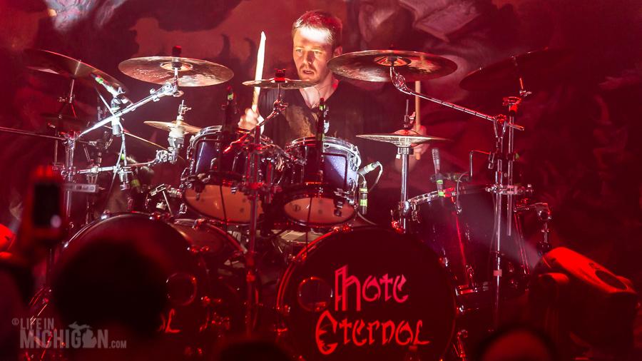 Hate Eternal - Fall Metal Fest 6 on 1-Nov-2015