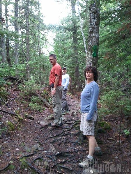 Hogback Mountain Hike rugged trail