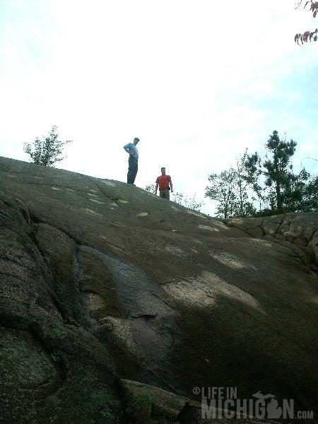 Hogback Mountain Hike rock scramble