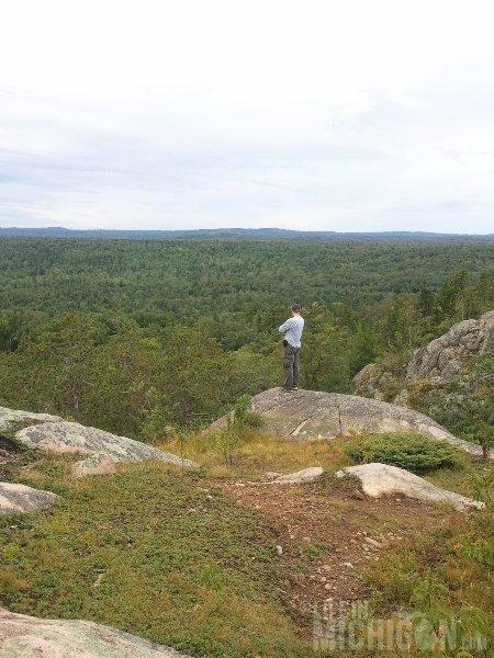 Hogback Mountain Hike Chuck Marshall to the south
