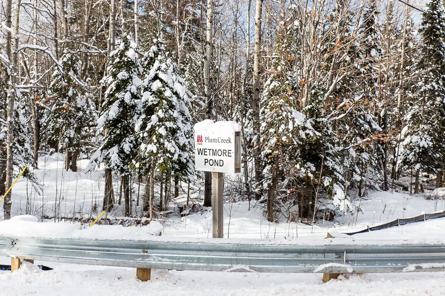 Hogback Mtn Marquette - U.P. Winter - 2014 -1
