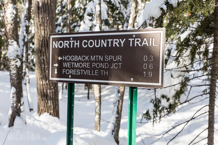Hogback Mtn Marquette - U.P. Winter - 2014 -11