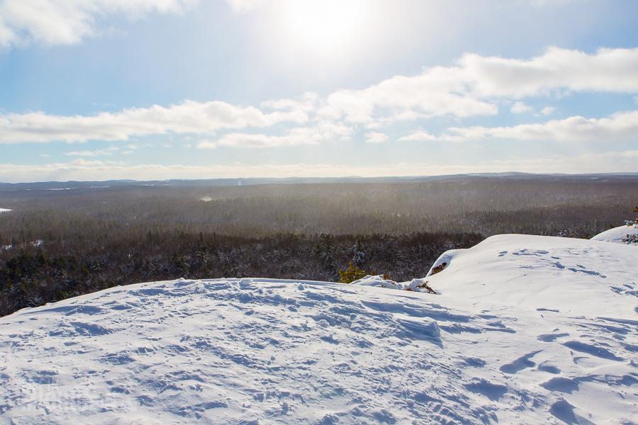 Hogback Mtn Marquette - U.P. Winter - 2014 -13
