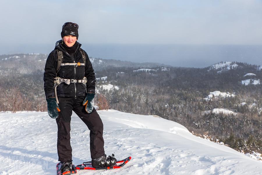 Hogback Mtn Marquette - U.P. Winter - 2014 -14