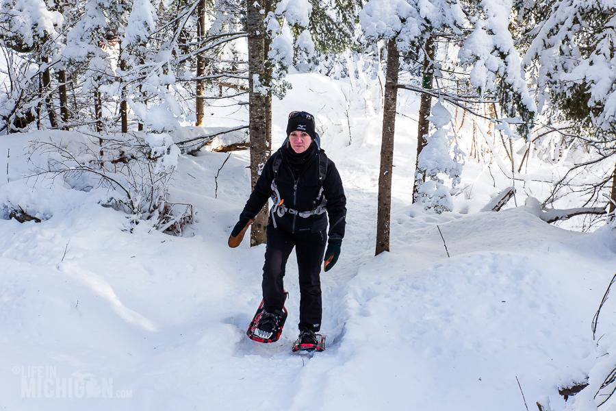 Hogback Mtn Marquette - U.P. Winter - 2014 -3