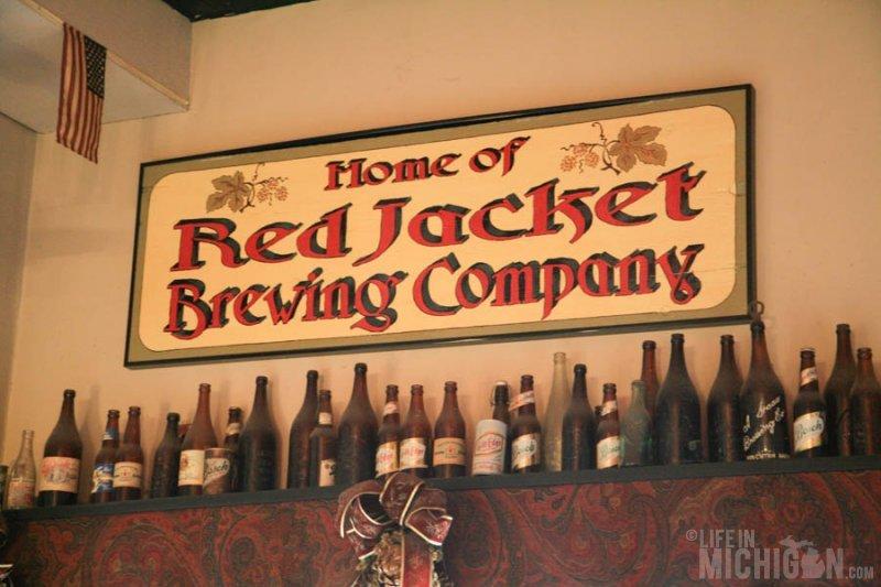 Keweenaw - Red Jacket Brewing signage