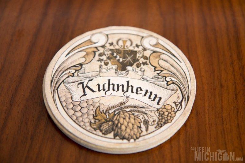 Kuhnhenn Brewing coaster