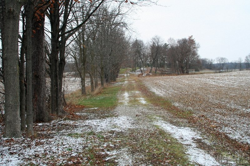 Driveway to Lima Center Cemetery