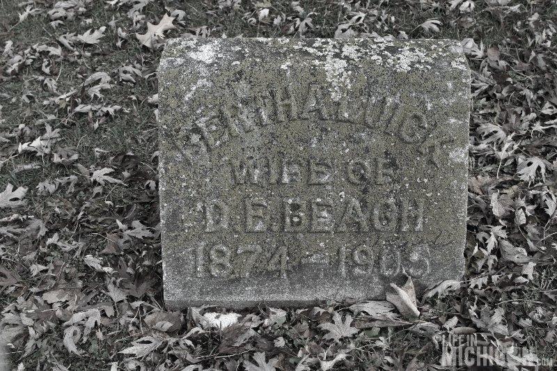 Bertha Luick (wife of D.E. Beach)