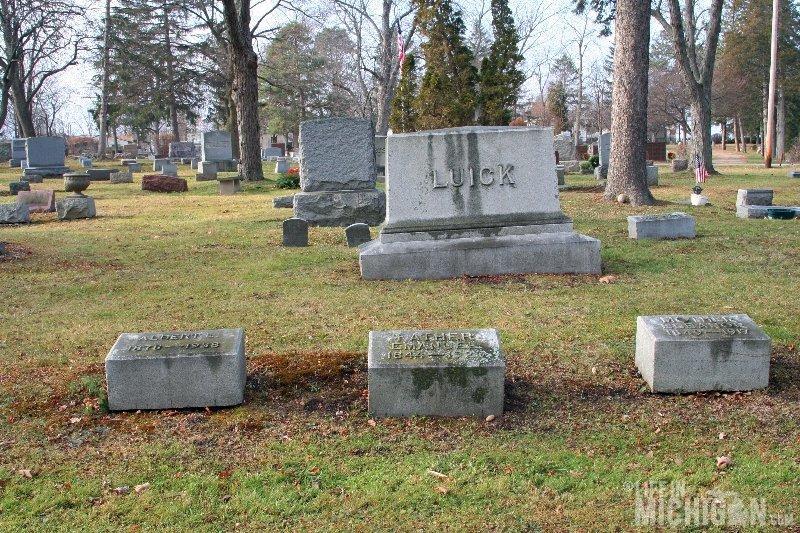 Luick Headstone Bethlehem Cemetery