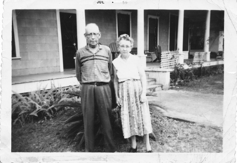 Albert and Lula Brown in FL