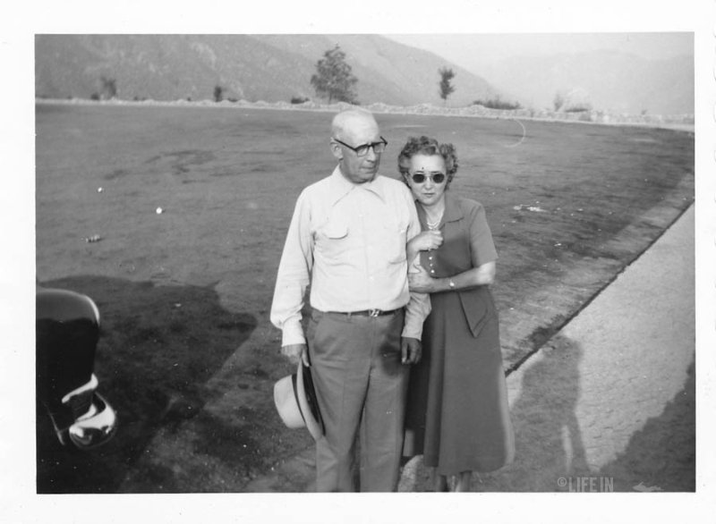 Albert and Lula Brown on Vacation in Arizona