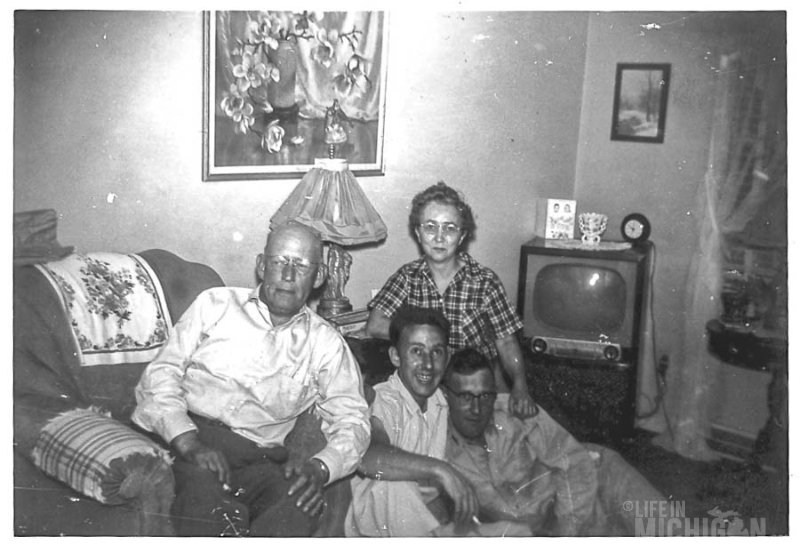 Brown Family Living Room 1940s