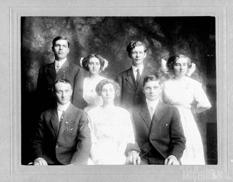 Lula King's Graduation class 1912