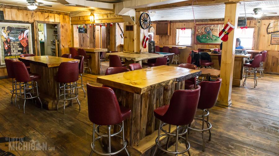 Lumberjack Tavern Big Bay - U.P. Winter - 2014 -10