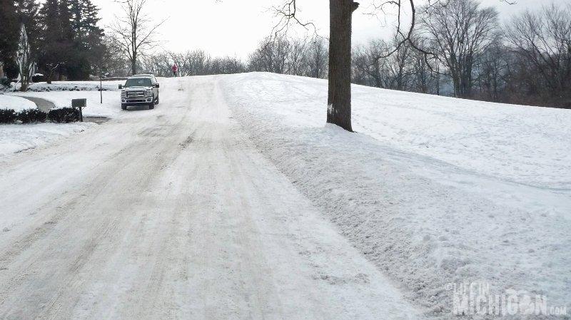 Michigan Winter Running