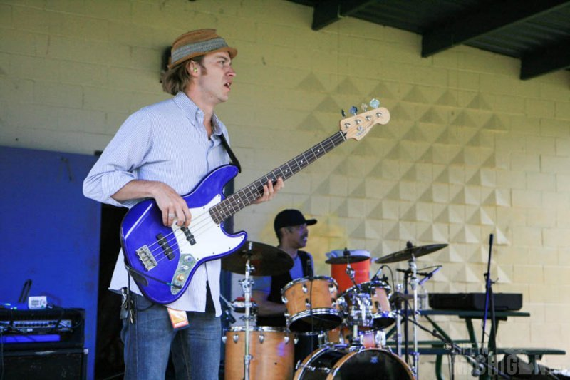 Solid sounds from the Laith Al-Saadi trio at the Michigan Summer Beer fest