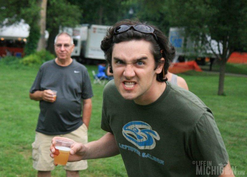 Bitter beer face???