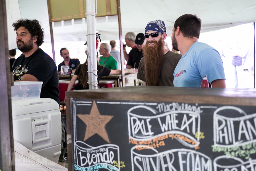 Michigan Brewers Summer Beer fest 2014