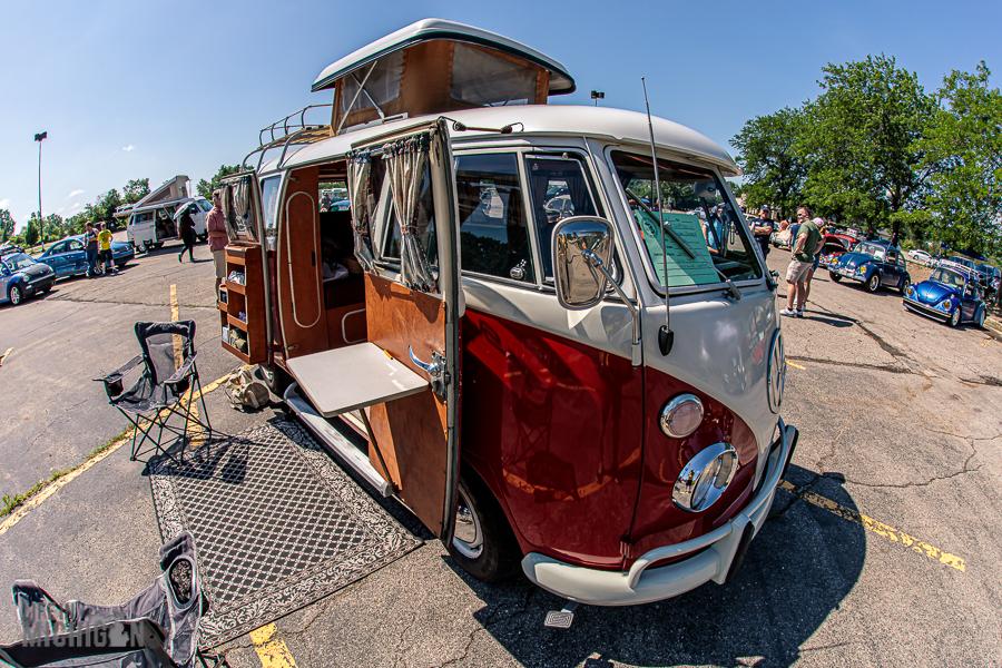 Michigan Vintage Volkswagen festival - Van