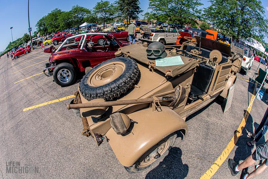 Michigan Vintage Volkswagen festival - Jeep