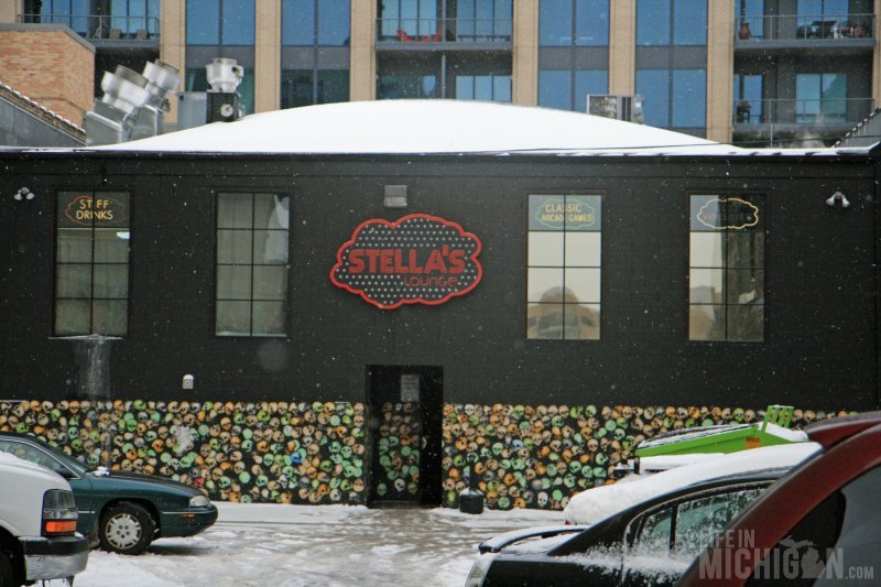 Dinner at Stella's in Grand Rapids Michigan
