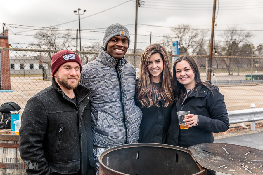 Enjoying the outdoors at Batch Brewing