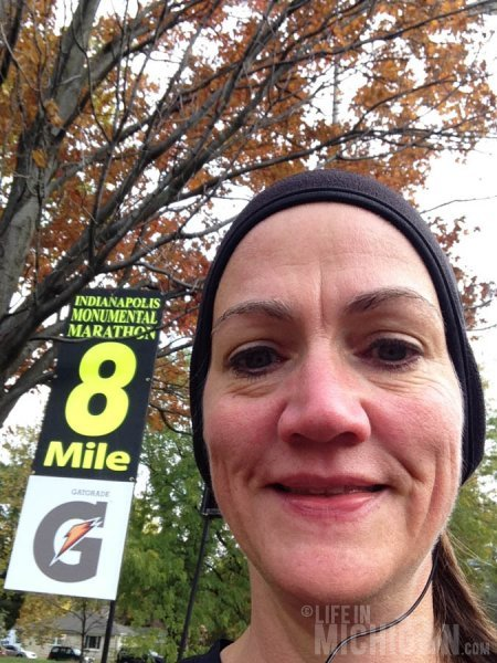 Mile 8 down, 18 to go!!