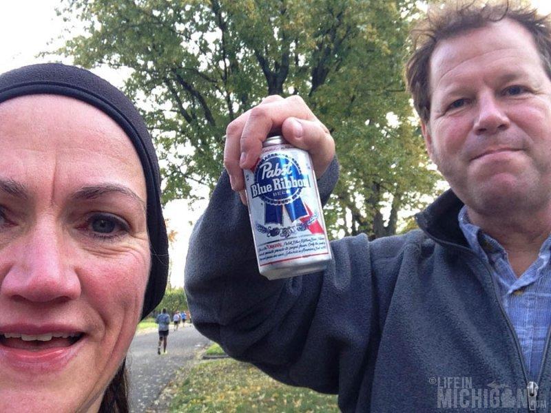 Pabst, the ultimate marathon fuel!