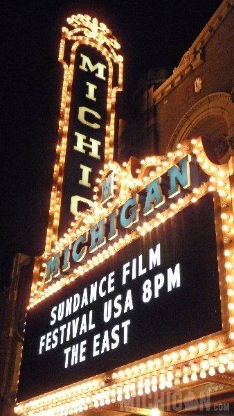 Michigan Theater Marquee for Sundance