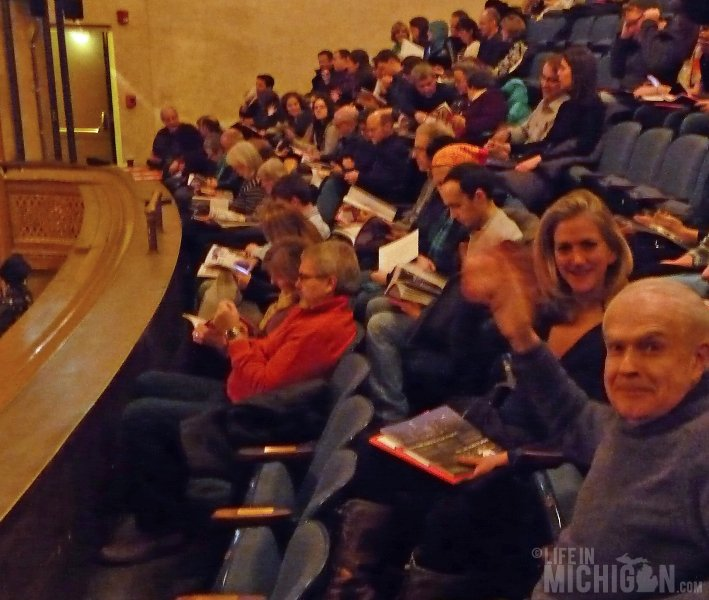 Audience for Sundance Festival at the Michigan Theater