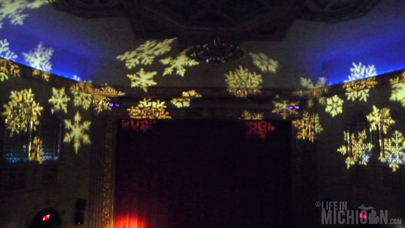 Michigan Theater, Snowflakes