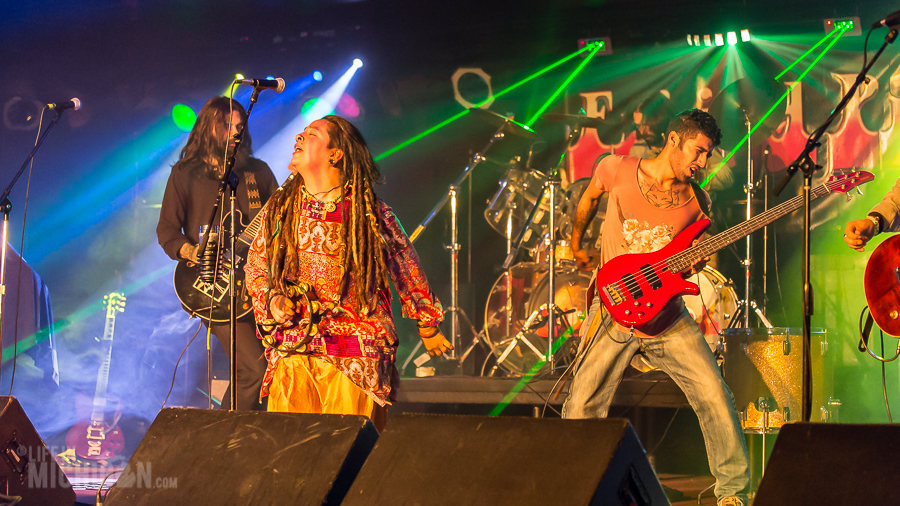 Nina and the Buffalo Riders @ Token Lounge 30-Oct-2015