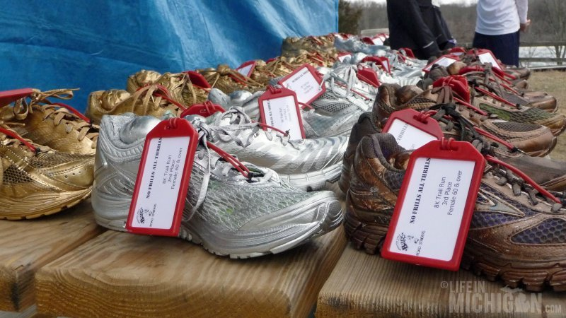 Fabulous Gold, Silver, and Bronze shoes for the fast folks!