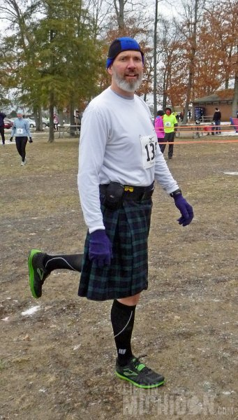 A good Scottish hip warm-up before the race