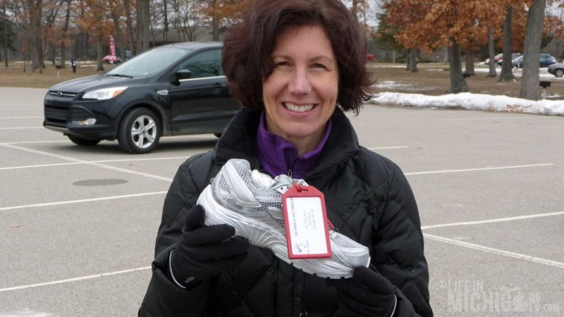 Anne took the SILVER SHOE!!!  Nice run Anne!!!
