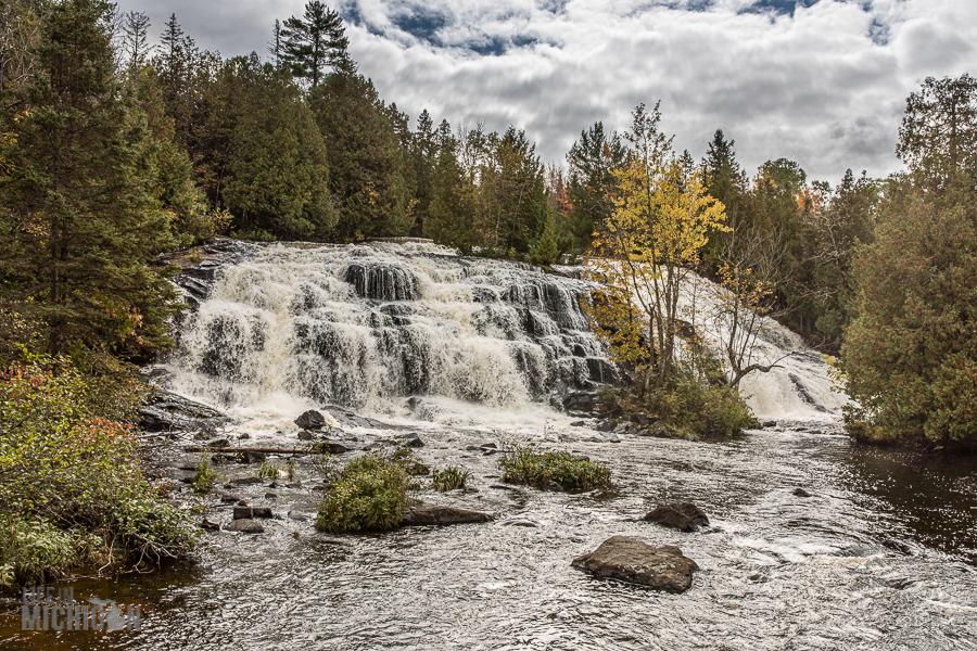 Northern Michigan Fall Color Tour - Bond Falls