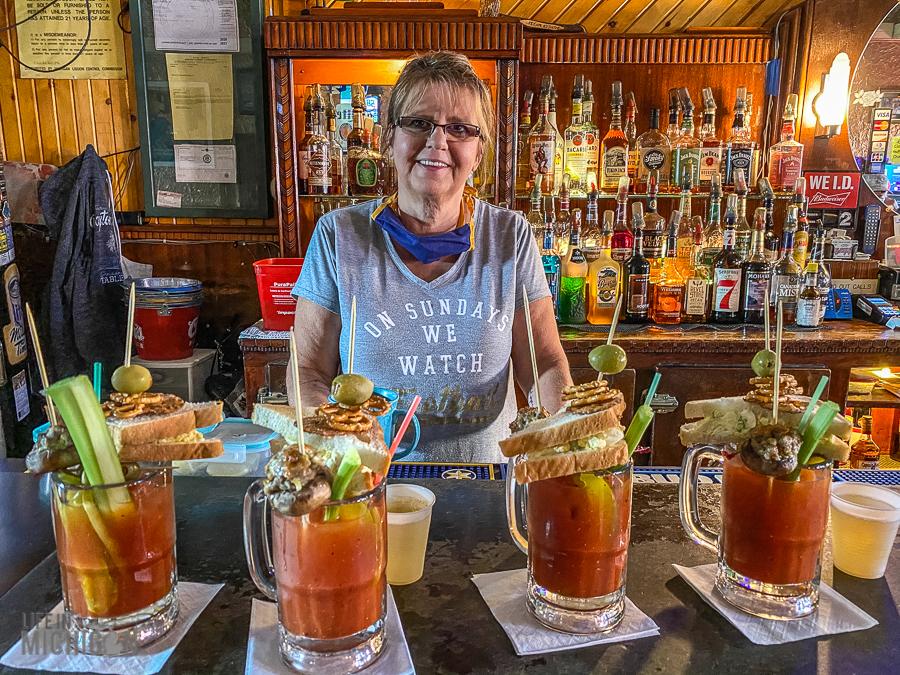 Ishpeming - Rainbow Bar a round of drinks