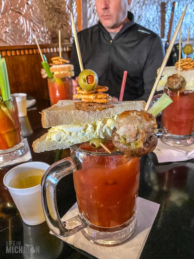 Ishpeming - Rainbow Bar Bloody Mary