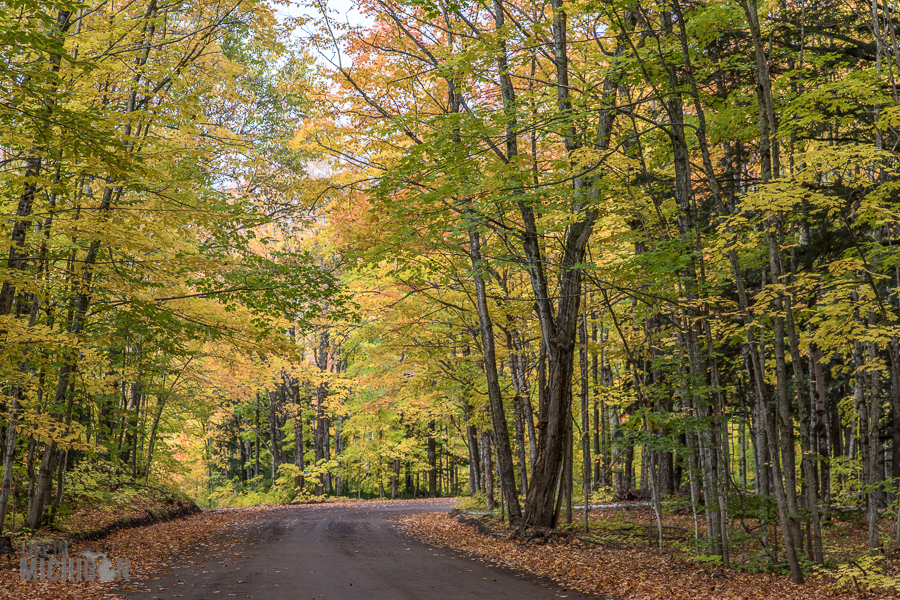 Michigan Fall Color Tour -Keweenaw